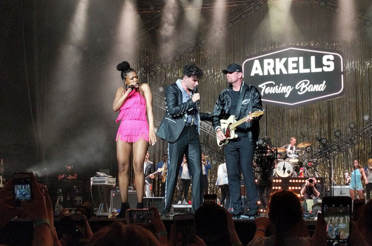 Watch Toronto Raptors Head Coach Nick Nurse Join Arkells Onstage