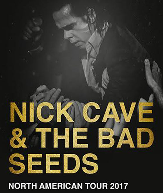 ​Nick Cave and the Bad Seeds Announce 2017 North American Tour
