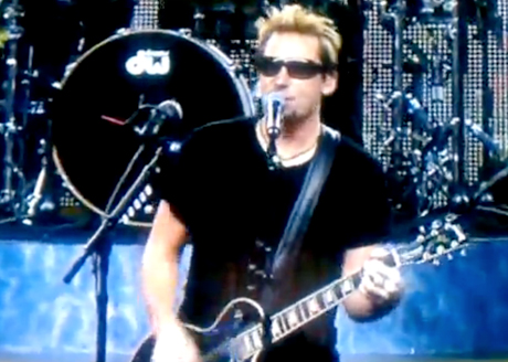 Nickelback Lions/Packers Halftime Show