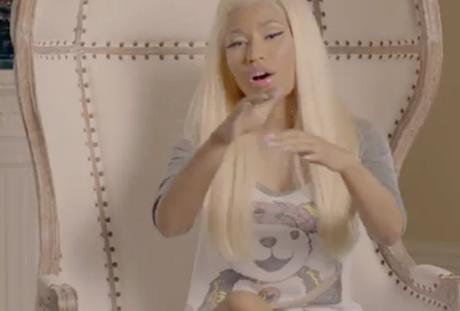 Nicki Minaj 'Right By My Side' (ft. Chris Brown and Nas) (video)