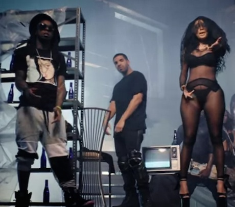 "Nicki Minaj ""Only"" (ft. Drake, Lil Wayne and Chris Brown) (video)"