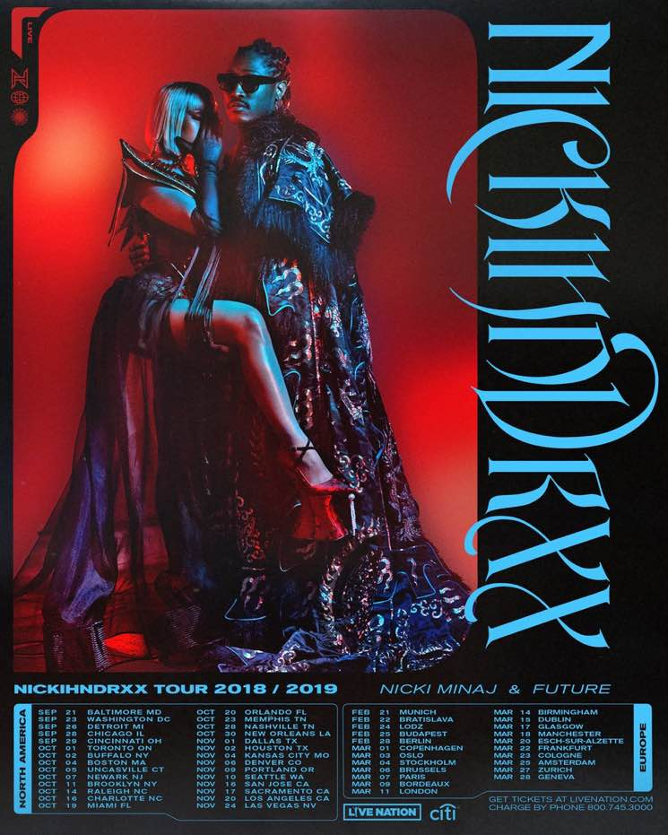 "​Nicki Minaj and Future Team Up for ""NICKIHNDRXX Tour"""