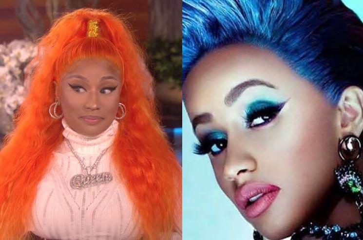 Nicki Minaj Addresses Dust-Up with Cardi B on 'Queen Radio'