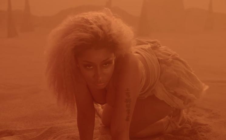 """Nicki Minaj Lets the """"Ganja Burn"""" in New Video"""