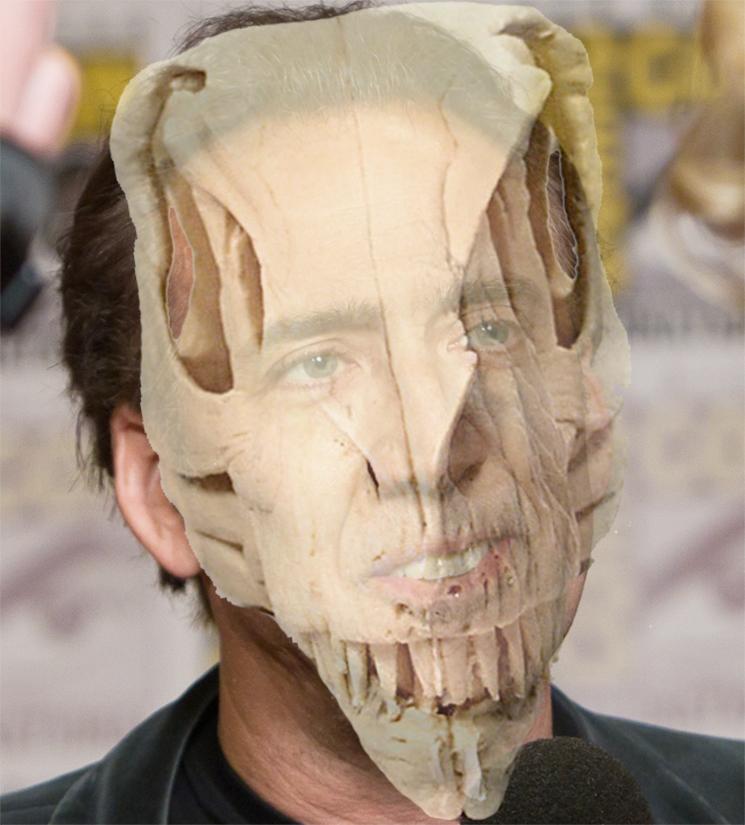 Nicolas Cage Returns Stolen Dinosaur Skull to Rightful Owners