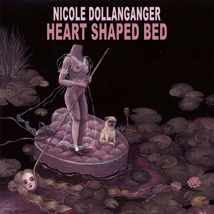 Nicole Dollanganger Heart Shaped Bed