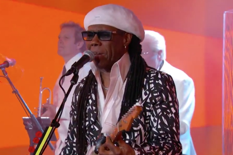 "Chic ""I'll Be There"" / ""Good Times"" (live on 'Kimmel')"