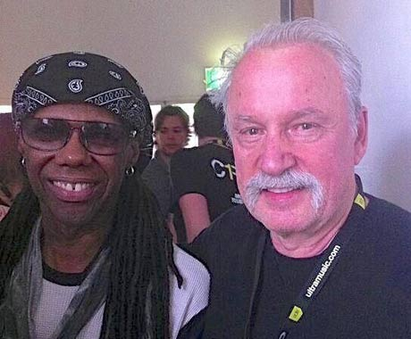 Nile Rodgers Hints at Giorgio Moroder Collab