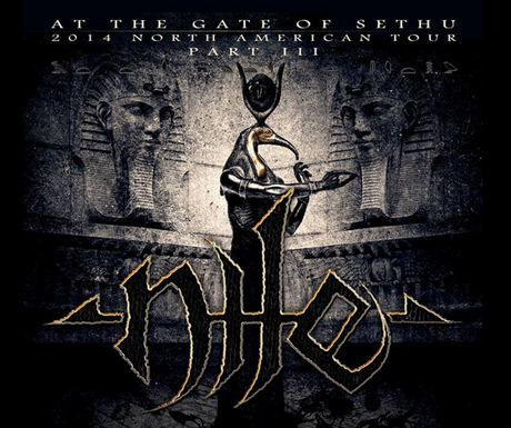 Nile Bring 'At the Gate of Sethu' Out for Another North American Tour