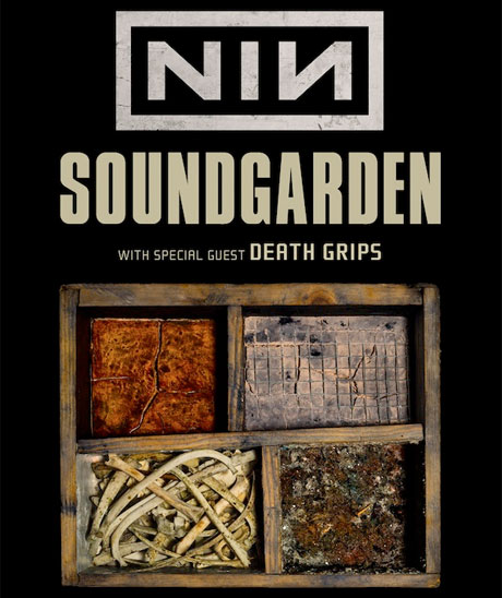 Nine Inch Nails, Soundgarden and Death Grips Team Up for North American Tour, Play Toronto