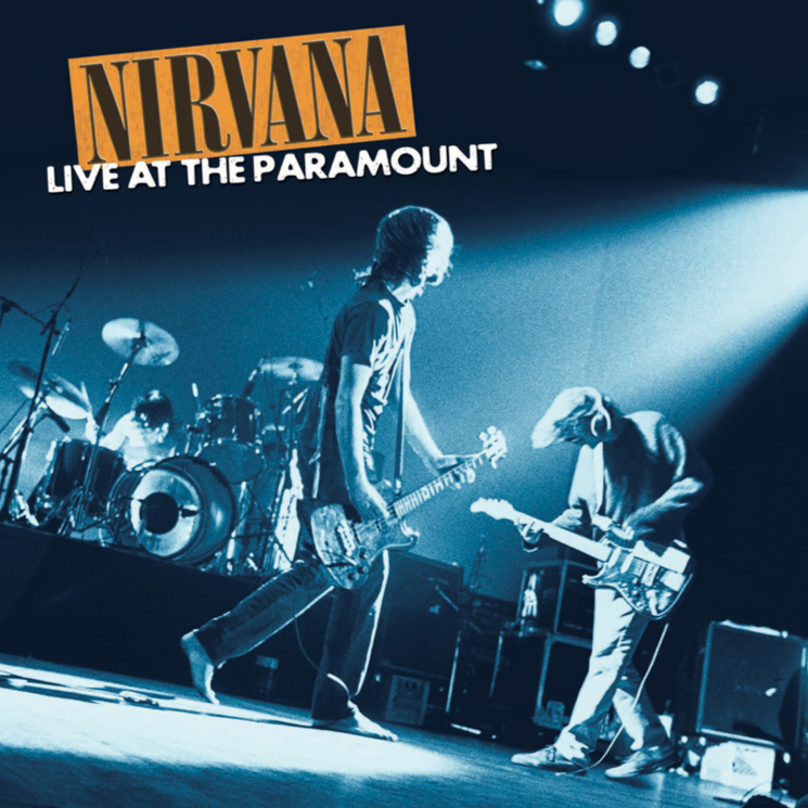 Nirvana Treat 'Live at the Paramount' to 2-LP Vinyl Release