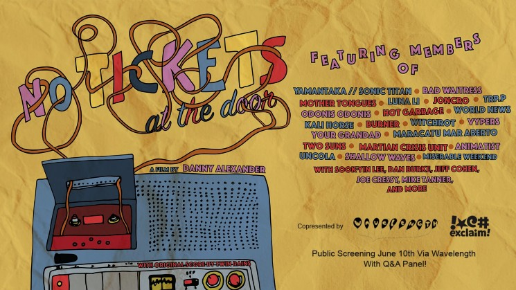 Tune In to a Special Screening and Q&A of Toronto Live Music Doc 'No Tickets at the Door'