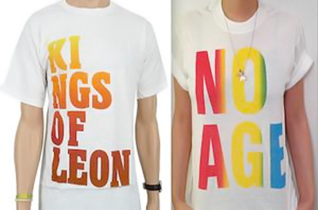 Beefs 2012: No Age Accuse Kings of Leon of Ripping Off Their T-Shirt Design
