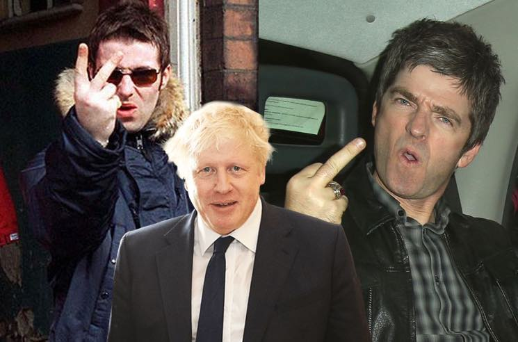 ​Noel Gallagher Says He'd Rather Have Boris Johnson as a Brother Than Liam