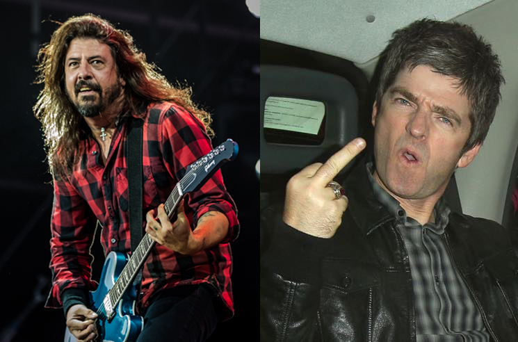 Noel Gallagher Wants to Petition Foo Fighters to Break Up