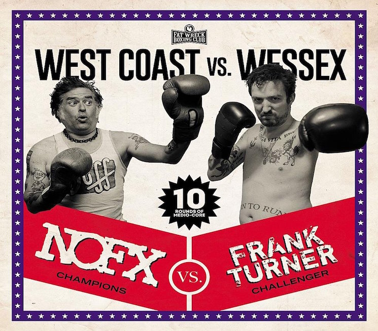NOFX and Frank Turner Are a Match Made in Heaven on 'West Coast vs. Wessex' Covers Album