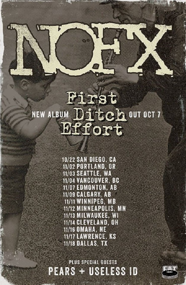 NOFX Plot Canada-Heavy Fall Tour