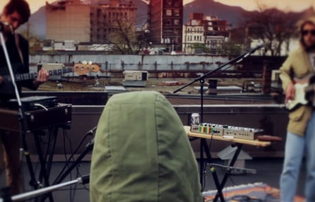 "No Gold ""Pulutti"" (live on a Vancouver rooftop)"