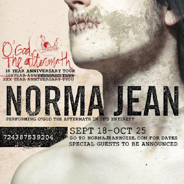 Norma Jean Announce 10th Anniversary Tour Behind 'O' God, the Aftermath'