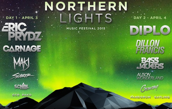 Diplo and Eric Prydz Headline Edmonton's Northern Lights Festival