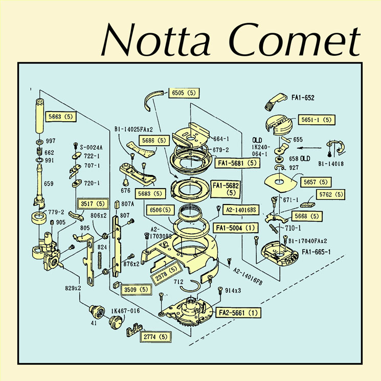 Notta Comet 'Embankments' (EP stream)