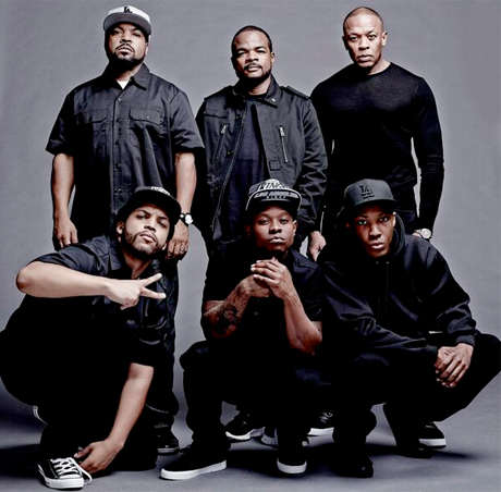 N.W.A. 'Straight Outta Compton' (film trailer)