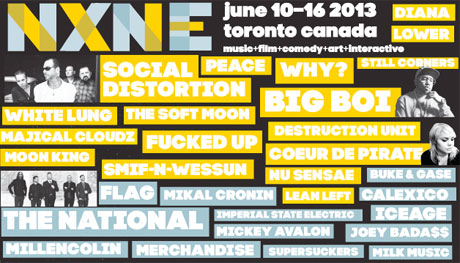 NXNE Expands Lineup with Social Distortion, Coeur de Pirate, Fucked Up
