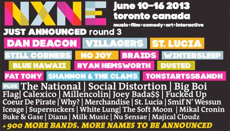NXNE Adds Dan Deacon, No Joy, Braids, Gold & Youth, Wintersleep