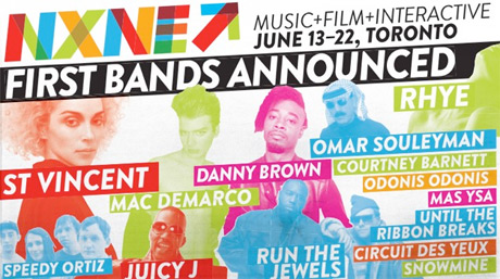 NXNE Announces Initial 2014 Lineup with St. Vincent, Danny Brown, Run the Jewels, Mac DeMarco