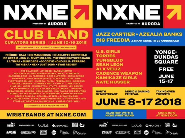 NXNE Announces 2018 Lineup with Jazz Cartier, Azealia Banks, Big Freedia