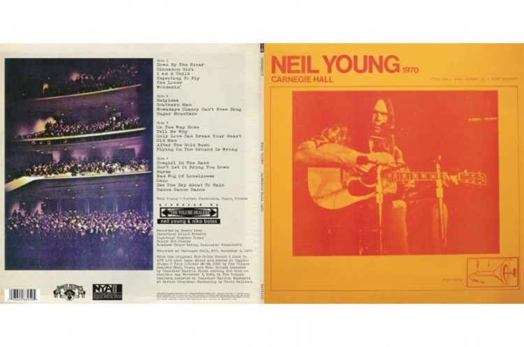 Neil Young Kicks Off Bootleg Series with 'Carnegie Hall 1970'