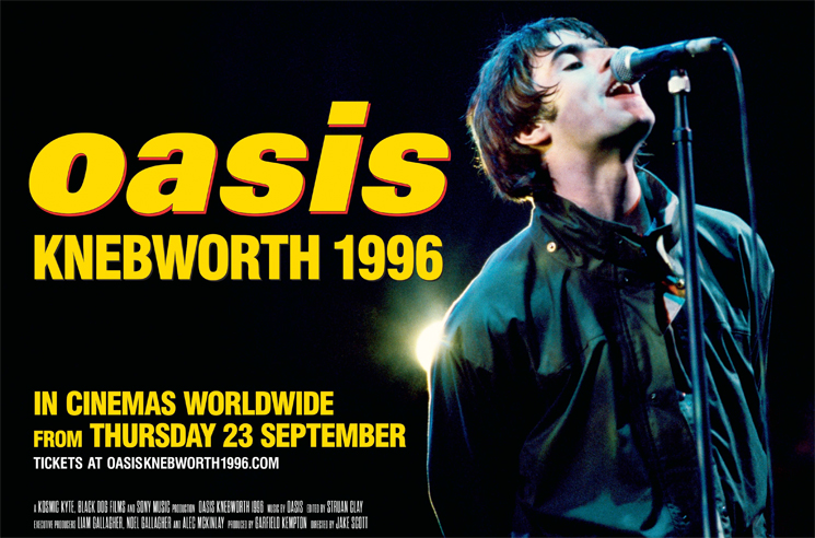 Oasis' New 'Knebworth 1996' Concert Film Arrives This Fall
