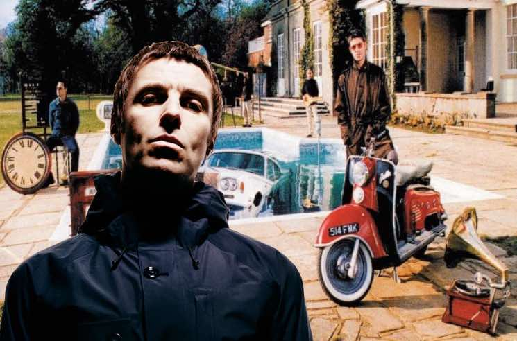 ​Liam Gallagher Spent His First Royalty Cheque on a Vintage Scooter