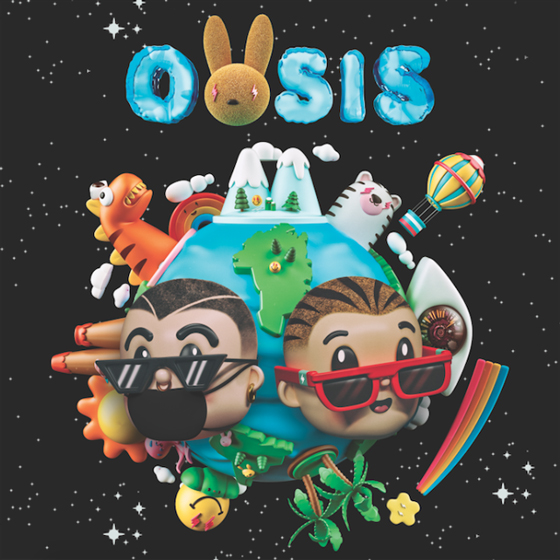 Stream Bad Bunny & J Balvin's Surprise New Album 'OASIS'