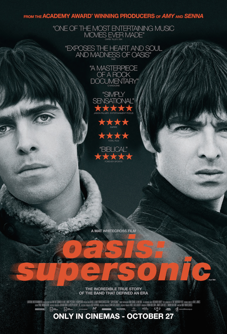 Oasis Documentary 'Supersonic' Will Hit Canadian Theatres for One Night Only
