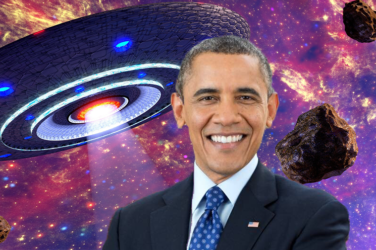 Barack Obama Confirms the Existence of UFOs on 'Corden'