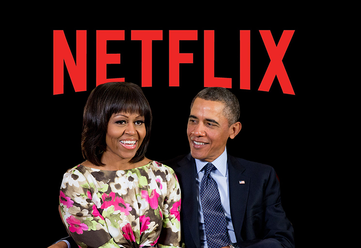 Barack and Michelle Obama Have Just Signed a Production Deal with Netflix