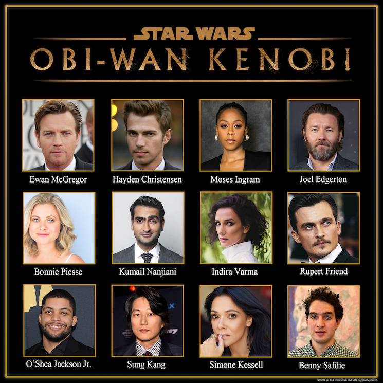 Kumail Nanjiani and Benny Safdie Have Joined the Cast of Disney+'s Obi-Wan Kenobi Series