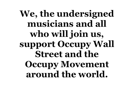 Lou Reed, Tom Morello, Fugazi Lend Support to Occupy Movement with New Website