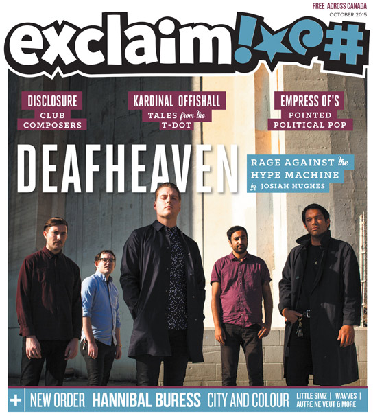 ​Deafheaven, Kardinal Offishall and Hannibal Buress Fill Exclaim!'s October Issue