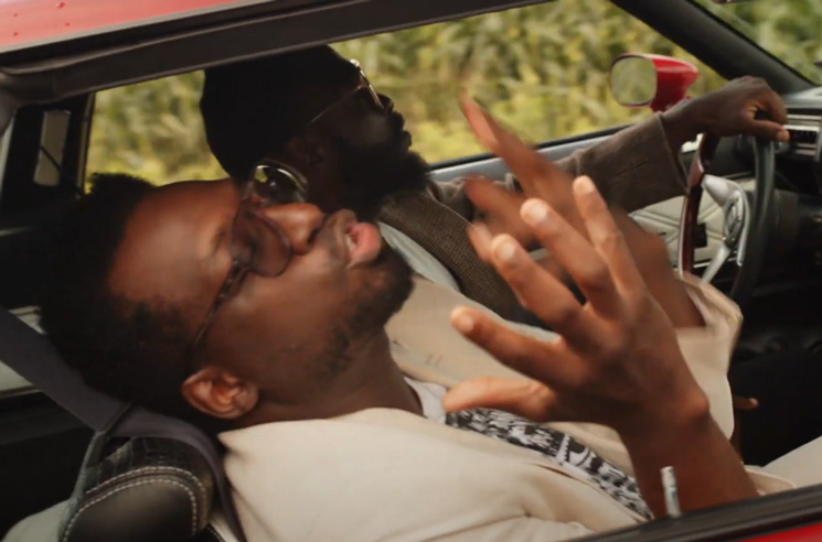 Odario Takes a Cruise in His 'Hot Hot Heat' Video
