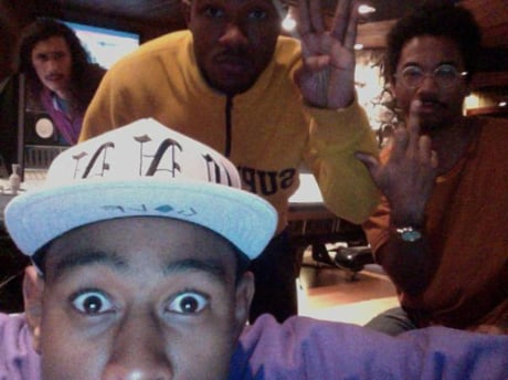Tyler, the Creator, Frank Ocean and Toro Y Moi Join Forces in the Studio