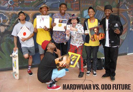 Odd Future Wolf Gang Kill Them All vs. Nardwuar