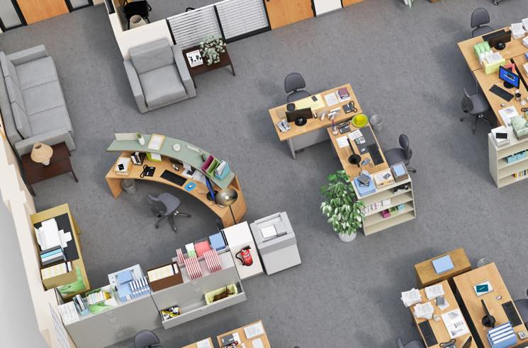 ​Tour the Sets of 'Parks and Rec,' 'The Office' and 'Brooklyn Nine-Nine' with These 3D Floor Plans