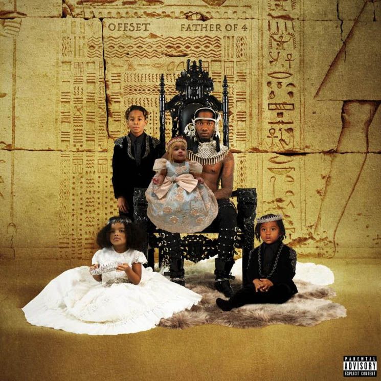 ​Stream Offset's New Album 'Father of 4' with Cardi B, Travis Scott, 21 Savage