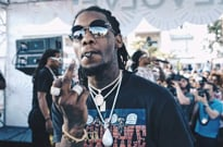 Offset Livestreamed Himself Being Detained at a Trump Rally