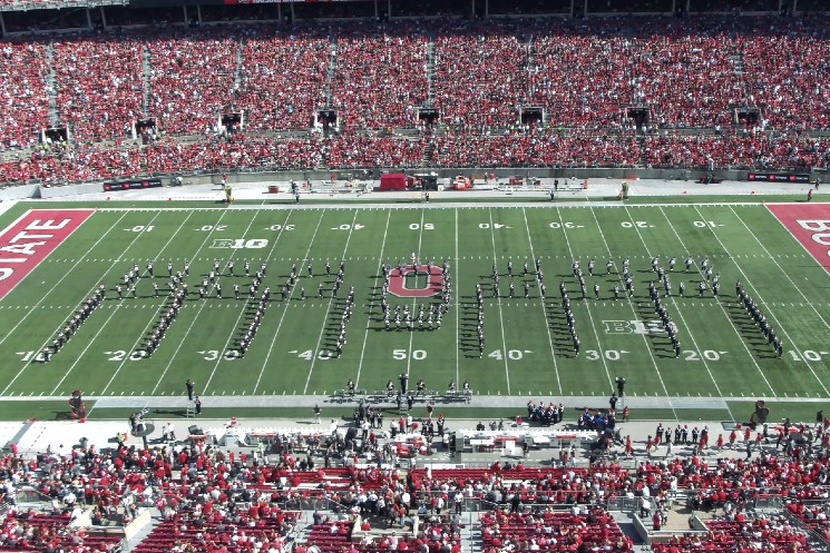 Rush Rendered 'Speechless' by Ohio State Marching Band Tribute