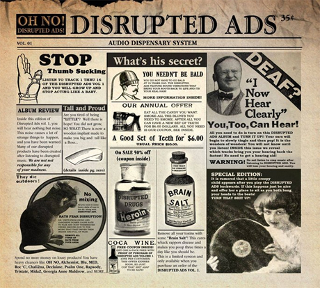 Oh No Collects Rarities on 'Disrupted Ads' Album