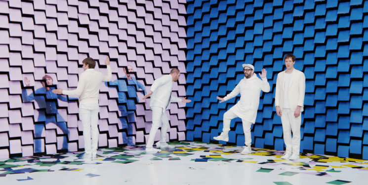 OK Go's new music video features a wall of printers