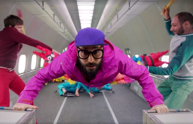 "OK Go ""Upside Down & Inside Out"" (video)"